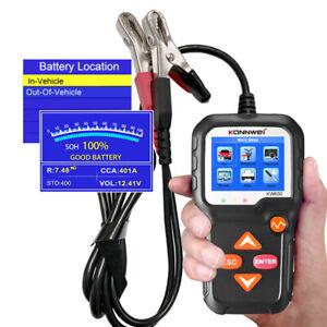 Autoreparaturen KONNWEI KW650 Autobatterietester Ladekurbeltestanalysator