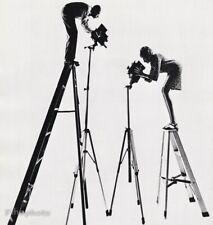 1954 Vintage PHILIPPE HALSMAN YVONNE Ladder Camera Self Portrait Photo Art 16X20