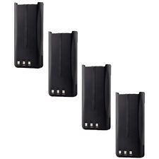 4pcs Li-Ion KNB-45L Battery for KENWOOD TK-2207 TK-3207 TK-2312 TK-3312