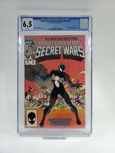 🔑🔥 Marvel Super Heroes Secret Wars #8 ~ CGC 6.5 ~
