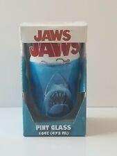 (Rare) Jaws Shark Movie 16 oz Pint Glass Brand New in Box (Read description)