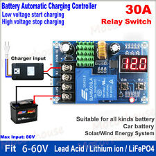 12V 24V 36V 48V LiFePO4 Battery Charger Automatic Charging Controller Module