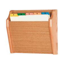 Wooden Mallet Ch14-1 Light Oak Single Pocket Wall Mounted File / Chart Holder