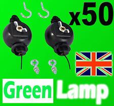 50 Paires Yoyo rouleau facile cintre réflecteur lampe de lumière hydroponics hood croître tente