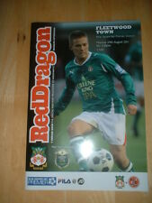 2011/12 WREXHAM V FLEETWOOD TOWN - CONFERENCE