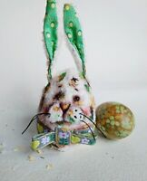 Teddy Easter rabbit  Rex OOAK Artist Teddy by Voitenko Svitlana.