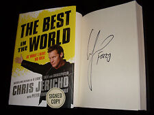 WWE Y2J Chris Jericho signed The Best In The World 1st printing hardcover book