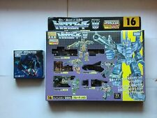 Transformers G1 Combaticons / Bruticus Encore Takara + Shockwave Upgrade