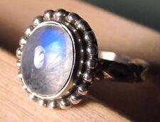 Handmade Moonstone Sterling Silver Fine Jewellery
