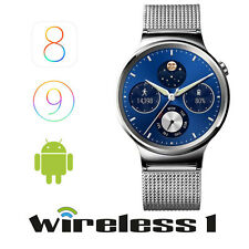 Buy Now Huawei W1 Stainless Steel with Mesh Band Silver