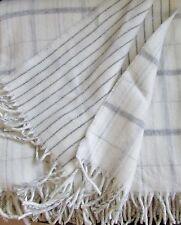 COUVERTURE double-face avec laine cachemire, Couvre-lit 140x175 cm 100% laine
