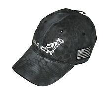 Mack Trucks Black Kryptek Typhon 3D USA American Flag Patch Tactical Gear Hat
