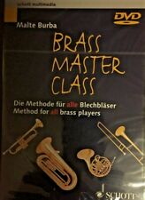 New Brass Master Class Method for All Players Learn Play Music Lessons Dvd