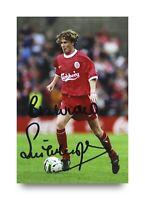 Steve McManaman Signed 6x4 Photo Liverpool Genuine Autograph Memorabilia + COA