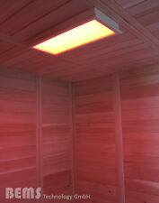 LED RGB Sauna Farblicht Beleuchtung für Sauna und Infrarotkabinen Lumina M