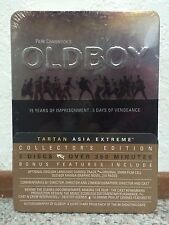 OLDBOY (Very Rare High Collectible Old Boy Collector's Edition 3X- DVD)