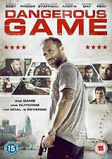 DANGEROUS GAME Calum Best Lucy Pinder DVD in Inglese NEW .cp