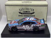 "2020 1/24 #48 Jimmie Johnson ""Ally Darlington"" CC-Camaro ZL1-1 of 624 SD SHIP"