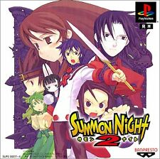 PS1 Summon Night 2 Japan PS PlayStation 1 F/S