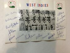 1966 West Indian Cricket Team Memorabilia