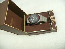 New Old Stock Pulsar Solar Powered 100m  Wristwatch For Repair