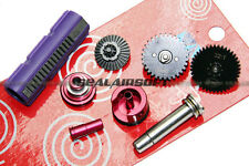 SHS 32:1 Gear Full Tune-Up Set For M Series Airsoft Toy AEG 15 Teeth Piston