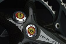 Colnago Ferrari crankset dust caps fit shimano campagnolo ofmega gipiemme vintag