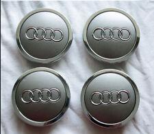 Set-of-4-Genuine-Audi-OEM-Wheel-Center-Caps-68mm-4B0601170A-or-4B0-601-170A  Se