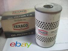 49-59 OLDSMOBILE 56-59 PONTIAC 53-58 BUICK TEXACO T6 AC PF122 OIL FILTER NORS