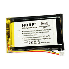 Hqrp Batería para Garmin Nuvi 1400, 1450, 1460, 1490, 1490T Pro, Ed38Bd4251U20