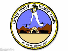 "29 PALMS MARINE CORPS 4"" HELMET TOOLBOX BUMPER CAR STICKER DECAL MADE IN USA"