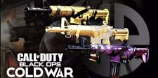 Cold War Gold/diamond/DM Ultra And Zombie Camos!