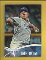 Hyun-Jin Ryu 2014 Topps The Future is Now Insert Card #FN-15 LA Dodgers Baseball