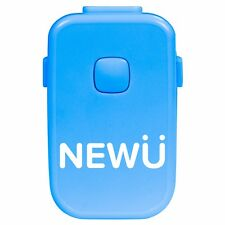 NewU Bedwetting Alarm With 8 Loud Tones, Strong Vibrations and Light