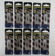 (10 Packs) Stanley 11-525 Heavy Carpet Blades (50 Blades) - New, Unopened