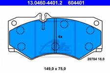Bremsbelagsatz, Scheibenbremse für Bremsanlage Vorderachse ATE 13.0460-4401.2