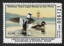US SC 13 (1992 - 93) South Carolina Duck Stamp - Mint - VF