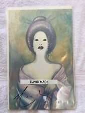 kabuki #1 signed by david mack