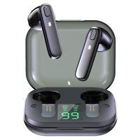 R20 TWS Earphone Bluetooth Wireless Headset Waterproof Deep Bass Earbuds True Wi
