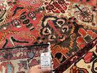 6x7 VINTAGE RUG HAND-KNOTTED WOOL oriental handmade antique carpet fine 5x7 5x8