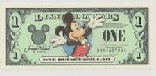 """Disney 1 Dollar, 2003 Series """"DA"""" Disneyland Mikey Tuxedo Uncirculated"""