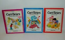 Vintage 1983 Care Bears Picture Books, Hardcover Lot of 3