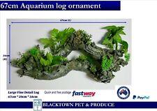 AQUARIUM FISH TANK ORNAMENT Large 67 cm Log Plant Decor