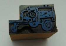 Printing Letterpress Printers Block Looks Work Trailer Possible Generator