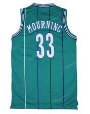 Charlotte Hornets Alonzo Mourning #33 Swingman Jersey Teal