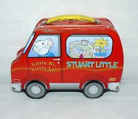 Columbia Pictures Stuart Little Metal Tin Lunch Box Carry All Arts Crafts