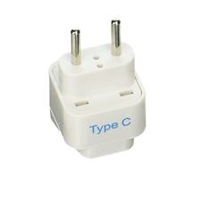 US To Russia Electrical Outlet Power Plug Charger Adapter For Russian Travel