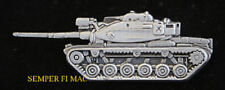 US ARMY M60A1 PATTON BATTLE TANK HAT LAPEL PIN WAR IRAQ VIETNAM VETERAN WAR GIFT