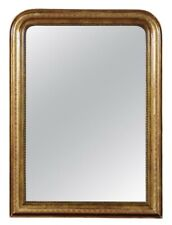 Antique 19th Century Louis Philippe Gilt Mirror - Restored