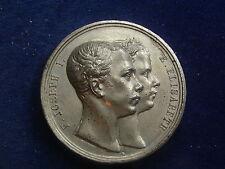 Medaille 1854 A Hochzeit Franz &  Sisi  Vermählung    W/17/286